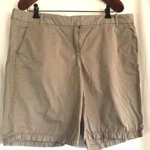 J Crew Bermuda pants with tags